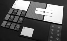 No-nonsense identity in all black for Function Engineering by Sagmeister & Walsh