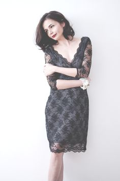 look book, lace dress