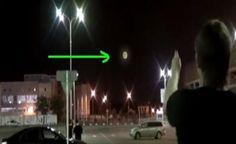 RÚSSIA: Enorme Bola de luz (UFO) Capturada no Céu de Krasnodar, Espanta Moradores