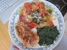 HEALTHY WHOLE WHEAT PASTA AND SAUCES RECIPES   whole wheat pastatraditional tomato saucewok fried green bell pepper ...