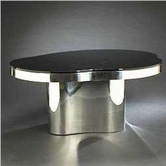 Karl Springer dining table , 1979