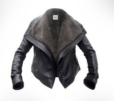 I just bought the best J.O.D. leather jacket ever : )    <3