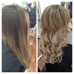 Going back blonde after the balayage trend #normanpark