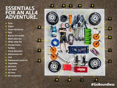 Kitted out. This is what a MINI mechanic carries at the Dakar Rally. See more on MINIspace.