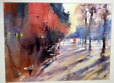 Victoria Prischedko Le Pouliguen Salon de l'aquarelle, du grand art