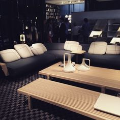 #Poliform #massaud #livingroom #sofa #wood #modern ##design #interior #furniture #madeinitaly