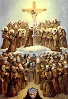 November 29 is the Feast of All Saints of the of the Seraphic Order