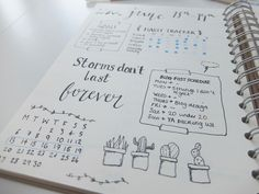 Bullet Journal Setup | See more on www.hannahemilylane.com
