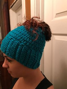A personal favorite from my Etsy shop https://www.etsy.com/listing/486474600/ponytail-hat-messy-bun-hat-ponytail