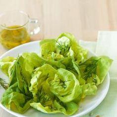 Kopfsalat mit Honig-Zitronen-Dressing Rezept - [ESSEN UND TRINKEN]