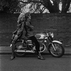 Britt Ekland and Patrick Lichfield by Terry O'Neill