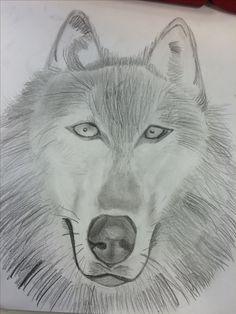 Dit is wat ik vandaag gedaan heb ik heb weer aan de haren gedacht het was wel lastig ik heb hem ook al wat donkerder getekent