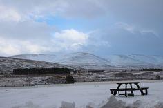 Natural Highlands. Neve... ma la luce fa capolino e regala magia