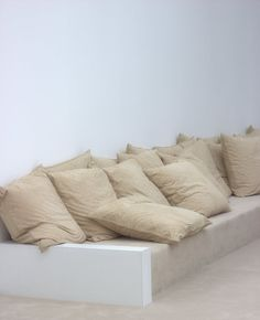 Minimal lounge space.