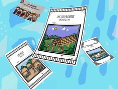 Jardin de Vicky Gardens, Card Kit, Note Taking, Physical Education Activities, Tabletop Games