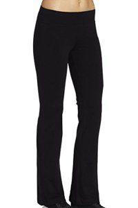 Leggings sport Pantalons femme Noir legging Jogging long Capri Collants Yoga,Taille 32=Etiquette taille S