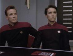 "Star TreK: Voyager & Tng - Wil Wheaton and Robert Duncan McNeill - ""The First Duty"" Star Trek Voyager, Star Trek Tos, Star Wars, Wesley Crusher, Watch Star Trek, Wil Wheaton, Star Trek Characters, Starship Enterprise, Star Trek Universe"