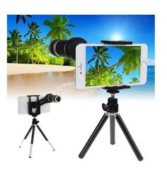 Great Mini Mobile Phone Stand X Zoom Telescope Camera Lens With Mini Tripod Holder For iPhone for