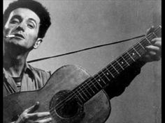 Tear the fascists down - Woody Guthrie
