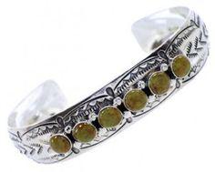 Silver Turquoise Southwest Cuff Bracelet Jewelry BW70662