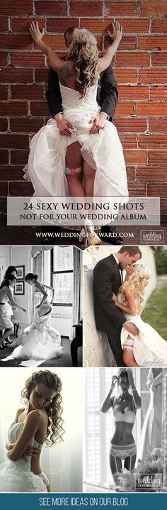 24 Sexy Wedding Pictures Not For Your Wedding Album ❤️If you want to add some passion to your wedding photos, look through our listing of sexy wedding pictures and borrow some ideas for your photo session. See more: http://www.weddingforward.com/sexy-wedding-pictures/ #weddings #photography