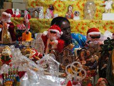 Christmas market in Bombay, 2016