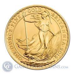 2012 1 oz Gold Britannia Bullion Coins | Gainesville Coins ®