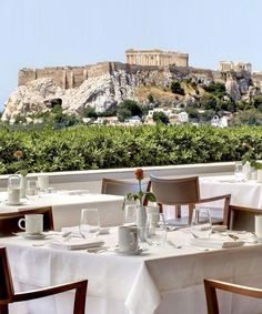 ROOF WITH A VIEW Rooftop Bars Around the World GB HOTEL GRANDE BRETAGNE ATHENS