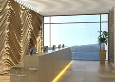 Real Estate in Greece: Halcyon Hills Luxury Resort and Spa, Samos Corporate Interiors, Hotel Interiors, Office Interiors, Lobby Reception, Reception Desks, Lobby Interior, Interior Design, Hotel Lobby Design, Workplace Design