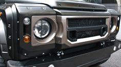 Defender X-lander Front Grille With Headlight Surrounds by Kahn