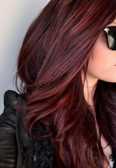 Hair Color On Pinterest Chocolate Cherry Dark Red Brown