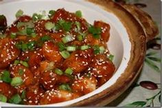 Panda Express Sesame Chicken Copycat Recipe Serves 2 1 to 2 pounds of frozen popcorn chicken 6 tablespoons honey 4 tablespoo. Panda Express Recipes, Easy Sesame Chicken, Copykat Recipes, Baked Chicken Recipes, Asian Recipes, Cat Recipes, Asian Foods, Yummy Recipes, Food Dishes