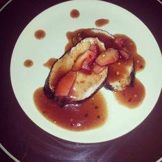 Asian Strawberry Pork Tenderloin.