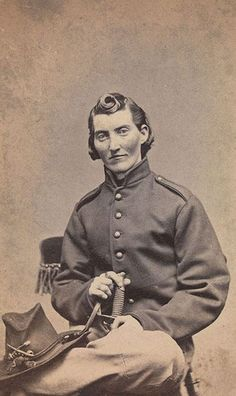 Clayton was a woman who fought on the Union side during the civil war disguised as a man.