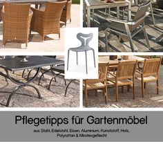 Clevere Pflegetipps Für Gartenmöbel | Ob Möbel Für Balkon, Terrasse U0026 Co.  Aus Aluminium, Eisen, Holz, Kunststoff, Polyrattan, Mirotexgeflecht, ...