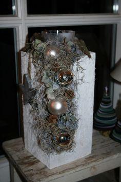 Süße Weihnachtsdeko von Vintage & Garden auf DaWanda.com