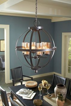 Buy the Sea Gull Lighting Autumn Bronze Direct. Shop for the Sea Gull Lighting Autumn Bronze Sfera 6 Light Single Tier Energy Star Title 24 Cage Chandelier and save. Decor, Room, House, Interior, Home, Home Remodeling, New Homes, House Interior, Interior Design