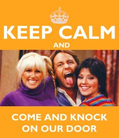 "Best show, Three's Company, ""Come and knock on our door, we've been waiting for you"". Company Quotes, Three's Company, Old Tv Shows, Movies And Tv Shows, John Ritter, Tv Times, Me Tv, Classic Tv, Favorite Tv Shows"