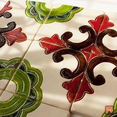Dwa poczwórne dekory - kubański wzór (proj. Dekory Nati)