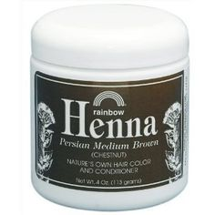 Rainbow Research Henna Persian Medium Brown (Chestnut) Hair Color 4 oz $7.74 #bestseller