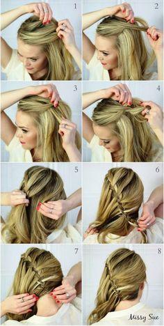 10 peinados paso a paso con trenzas al lateral para enamorar a todos - Imagen 3