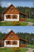SENDOM.PL - Producent domów drewnianych Kiosk Design, Wooden Houses, Home Fashion, Interior Design, House Styles, Home Decor, Log Projects, Houses, Timber Homes