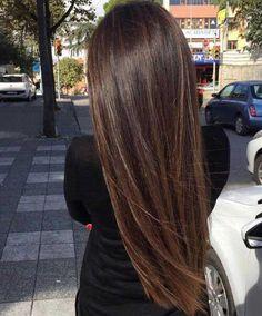 Erstaunlich Lange Gerade Frisuren für Frauenr
