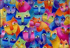 laurel burch cats - Поиск в Google