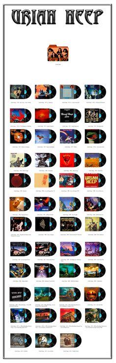 Album Art Icons: Uriah Heep
