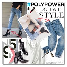 """""""Power outfit"""" by purpleagony ❤ liked on Polyvore featuring 3.1 Phillip Lim, Express, Garance Doré, jeans, casualoutfit, ankleboots, poweroutfit and PolyPower"""