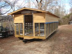 movable rabbit shed/barn