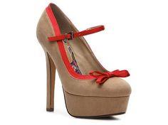 (BEIGE) 2 Lips Too Too Cute Pump Pumps & Heels Women's Shoes - DSW