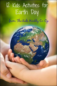 12 Activities for Earth Day from The Kids Weekly Co-Op | Mess For Less