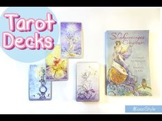 Hi Friends~ Here's my small Tarot deck collection; I have been trying to learn about Tarot and these are the decks I've used for some time ★.